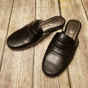 Slip On Black Loafers Samera Life Stride